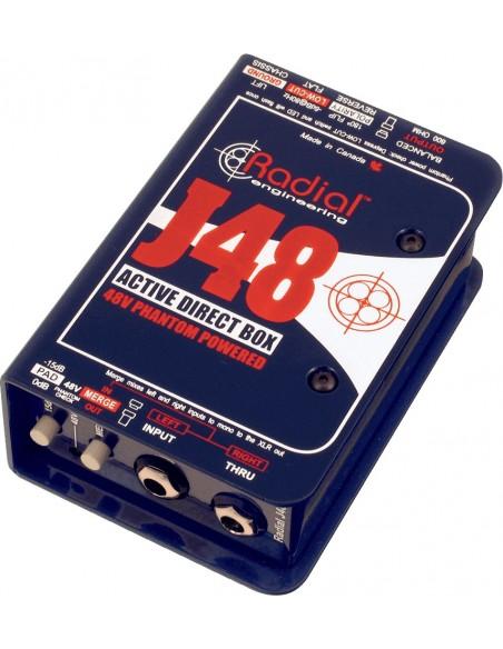 RADIAL J48 DI ACTIVE