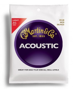 MARTIN M140 LIGHT 12-54 TRADITIONAL BRONZE 80/20