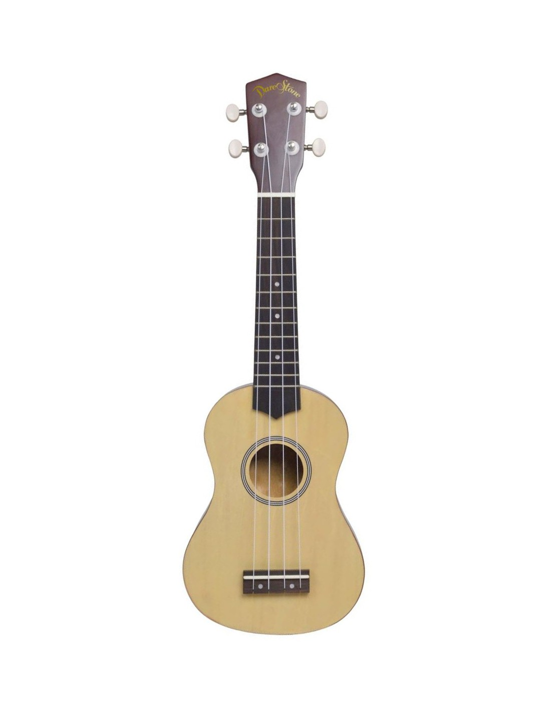 Dare stone uksnt soprano ukul l naturel avec housse for Housse ukulele
