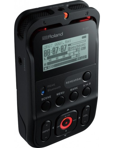 ROLAND R-07 Noir - Enregistreur numérique