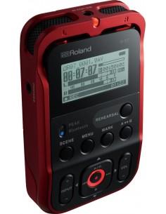 ROLAND R-07 Rouge - Enregistreur numérique