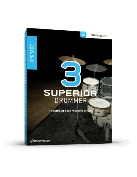 Toontrack Superior Drummer 3 Upgrade
