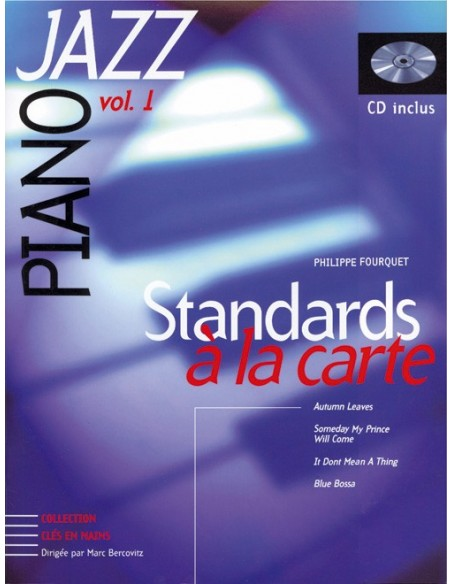 PIANO JAZZ VOL.1 + CD STANDARDS A LA CARTE