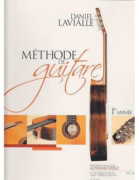 LAVIALLE DANIEL - MÉTHODE DE GUITARE 1ERE ANNÉE