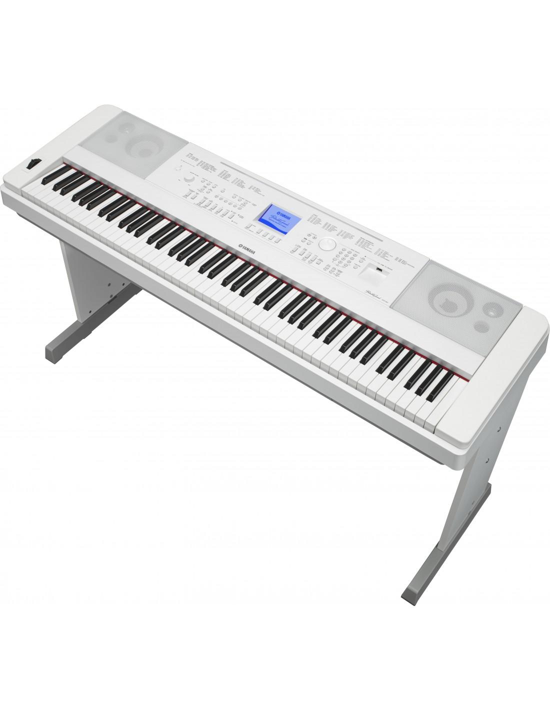 yamaha dgx 660wh piano num rique arrangeur. Black Bedroom Furniture Sets. Home Design Ideas