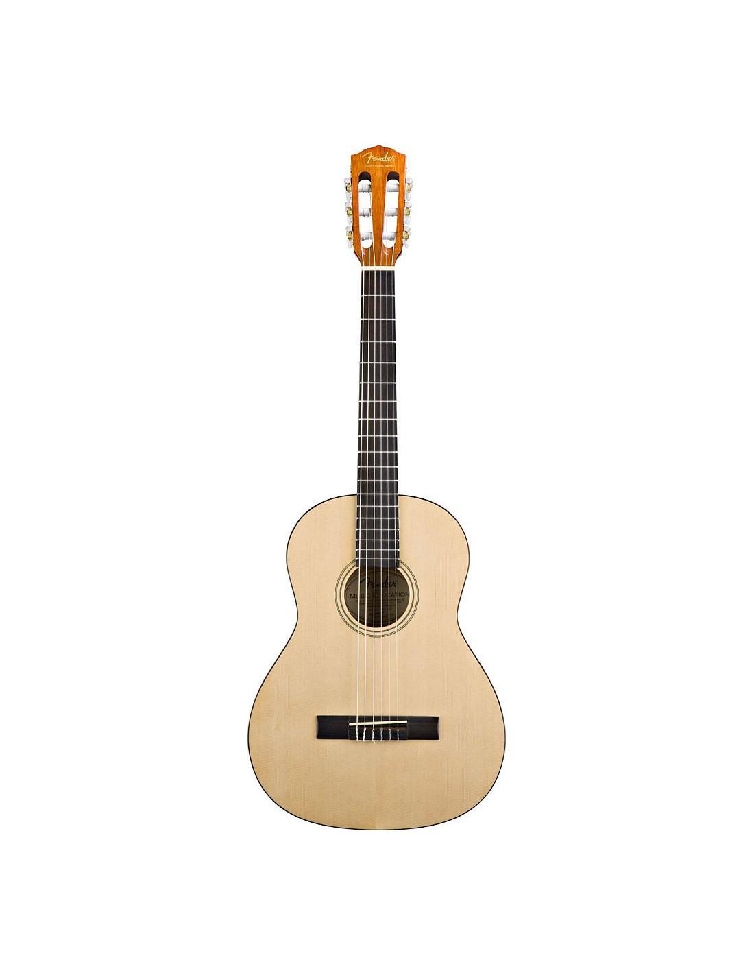 fender esc105 natural guitare classique 4 4 au meilleur. Black Bedroom Furniture Sets. Home Design Ideas