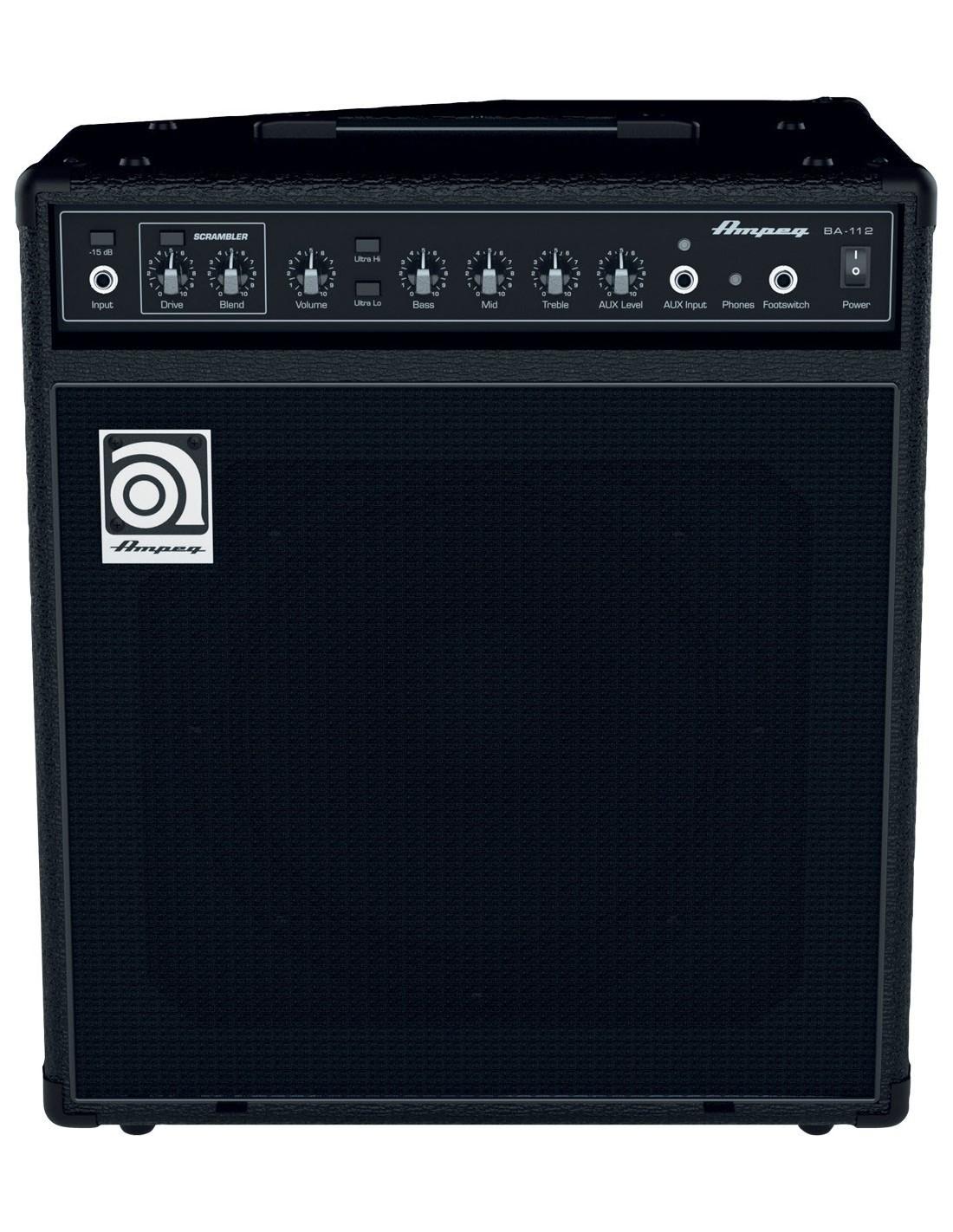 ampeg ba112 v2 ampli basse combo 75w. Black Bedroom Furniture Sets. Home Design Ideas