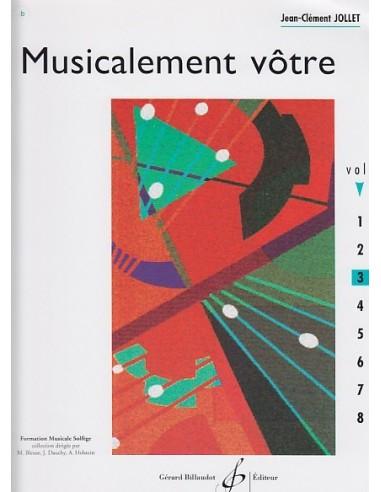MUSICALEMENT VOTRE VOL.3 - Jean-Clément JOLLET - BILLAUDOT