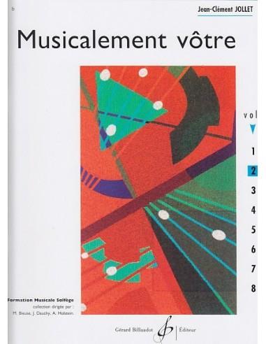 MUSICALEMENT VOTRE VOL.2 - Jean-Clément JOLLET - BILLAUDOT