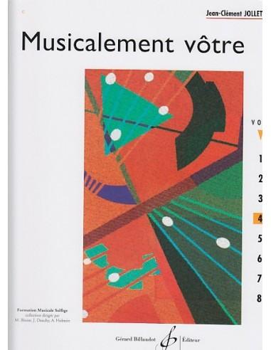 MUSICALEMENT VOTRE VOL.4 - Jean-Clément JOLLET - BILLAUDOT