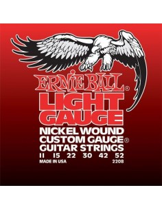 ERNIE BALL 2208 LIGHT GAUGE 11-52