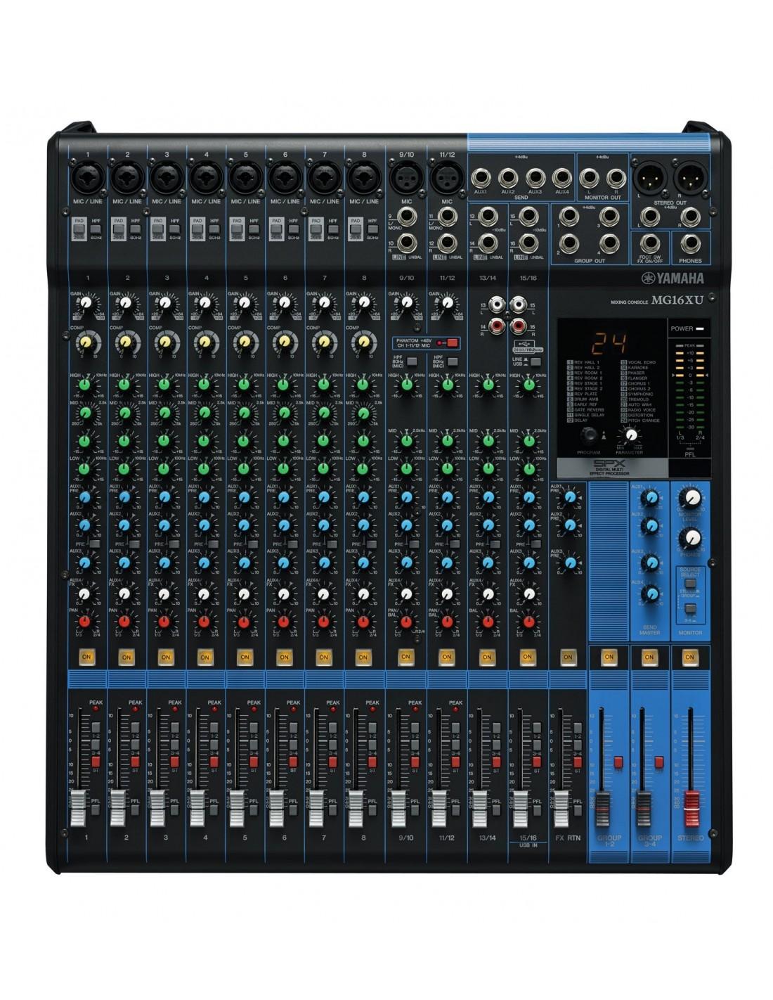Yamaha mg16xu table de mixage au meilleur prix for Table yamaha