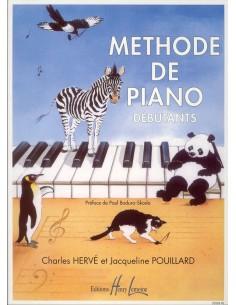 Méthode de piano débutant - Pouillard - Ed Henry Lemoine
