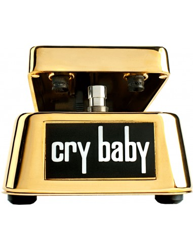 DUNLOP CRY BABY 50E ANNIVIVERSAIRE PLAQUEE OR 24K