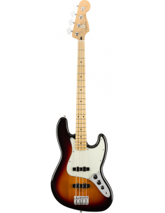 FENDER JAZZ BASS MEXICAN PLAYER 3 COLOR SUNBURST