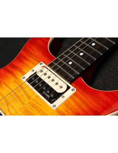 HAMER Sunburst Flame Maple Top