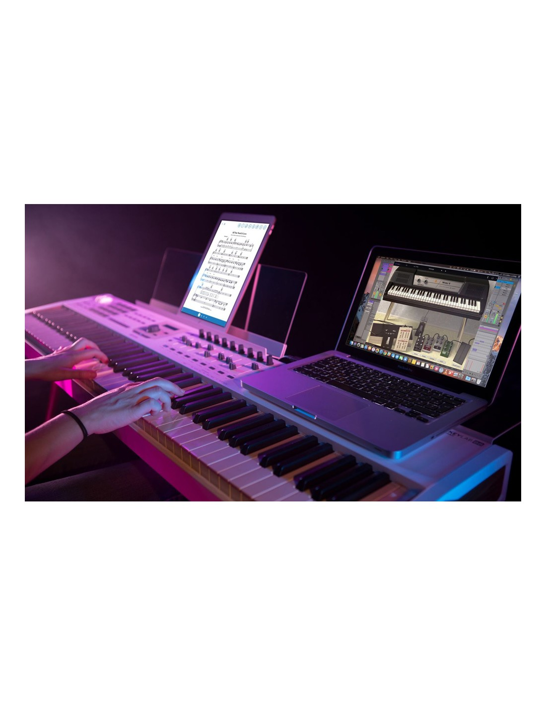 arturia keylab 88 mk2 clavier ma tre 88 notes toucher lourd fatar