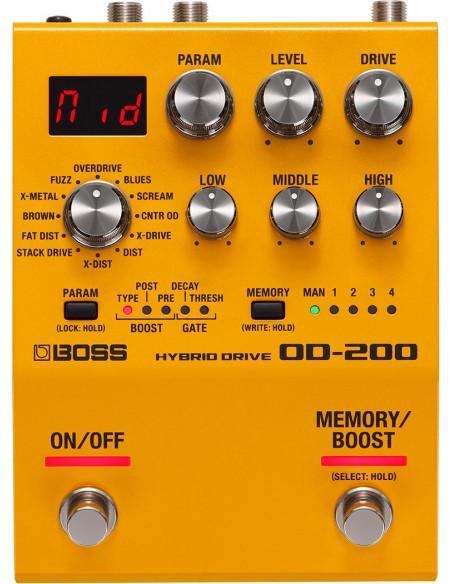BOSS OD-200 Hybrid Overdrive