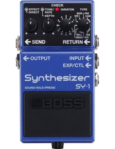 BOSS SY1 - Synthétiseur guitare