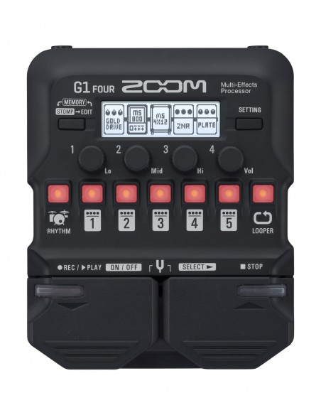 ZOOM G1-FOUR