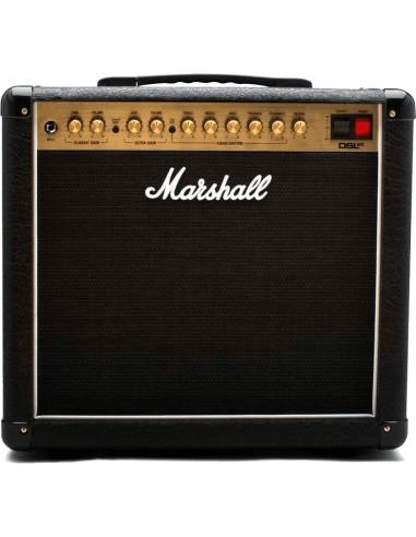 MARSHALL DSL20C, ampli guitare combo à lampes, puissance de 20 Watts