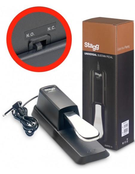 STAGG SUSPED 10 - Pédale de sustain