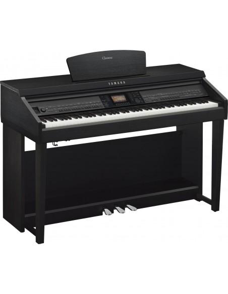 yamaha cvp 701 black walnut piano num rique arrangeur en. Black Bedroom Furniture Sets. Home Design Ideas