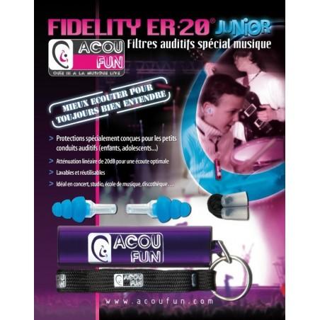 ACOUFUN Fidelity ER20 Junior