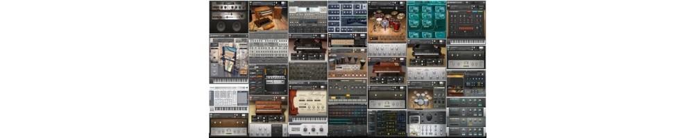banques de sons instruments virtuels informatique musicale spécialiste produits mao