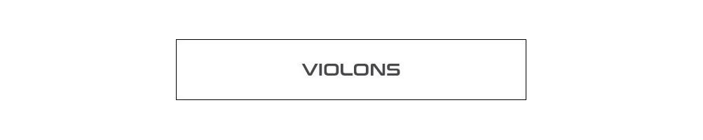 Violons instruments à cordes classique