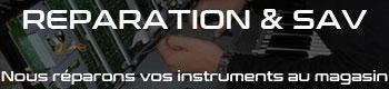 Réparation d'instruments de musique