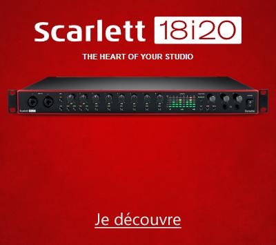 Focusrite Scarlett3 18i20 3GN