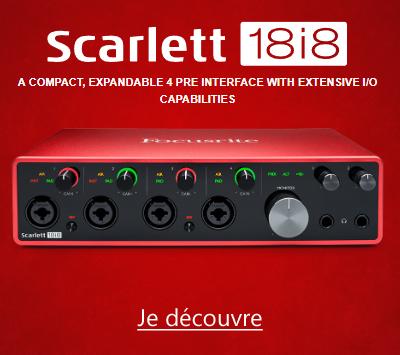 Focusrite Scarlett3 18i8 3GN