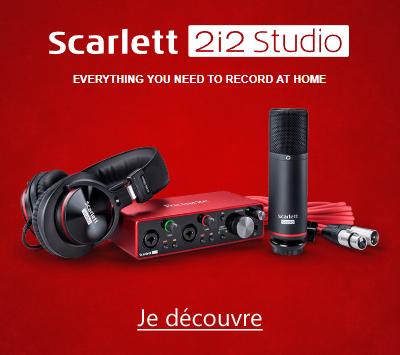 Focusrite Scarlett3 2i2 Studio 3GN