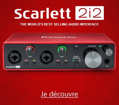 Focusrite Scarlett3 2i2 3GN