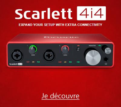 Focusrite Scarlett3 4i4 3GN