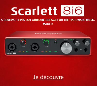 Focusrite Scarlett3 8i6 3GN