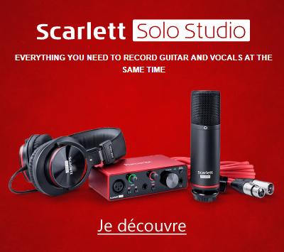 Focusrite Scarlett3 Solo Studio 3GN