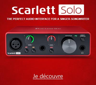 Focusrite Scarlett3 Solo 3GN
