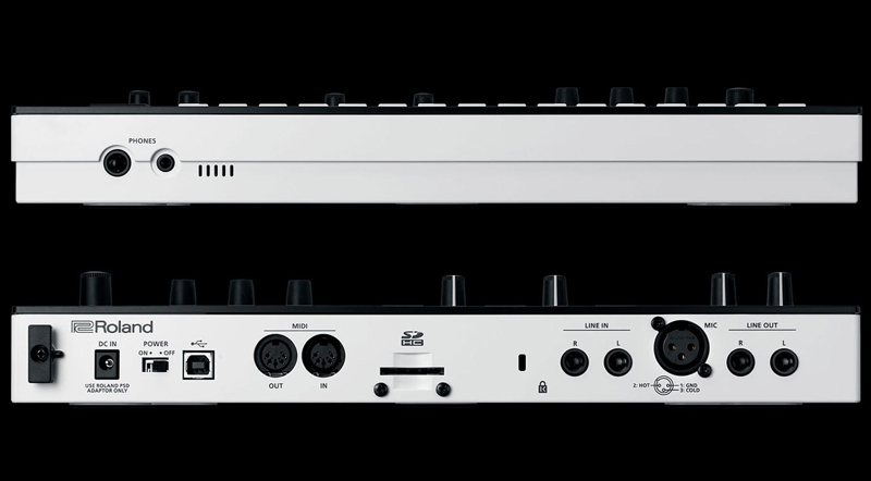 ROLAND VERSELAB MV-1 CONNEXIONS