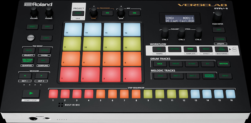 ROLAND VERSELAB MV-1 FACE